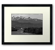 BRIDGE TO NATURE Framed Print