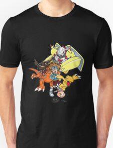 Digimon Agumon Evolution  T-Shirt