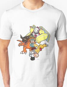 Digimon Agumon Evolution  T-Shirt