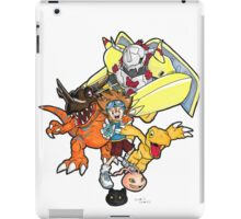 Digimon Agumon Evolution  iPad Case/Skin