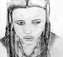 """Tuareg Girl"" by globeboater"