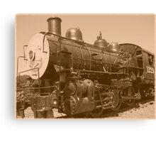 Old Fashioned Train Canvas Print