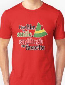 I JUST LIKE TO SMILE Unisex T-Shirt