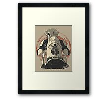 The baddest bikers club of the universe. Framed Print