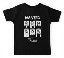 Wanted Grunge Icons Kids Tee