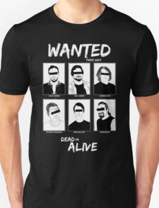 Wanted Grunge Icons T-Shirt