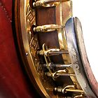 Ornate Banjo Detail by Eagleye