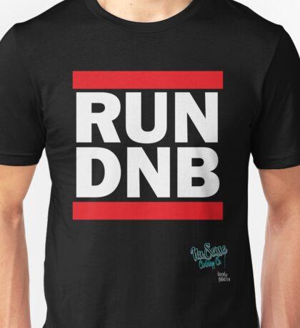 RUN DNB Design - White T-Shirt