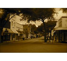 Lonely Town Photographic Print