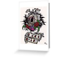 loco dia  Greeting Card