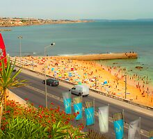 Estoril beach. Hotel cascais Miragem. by terezadelpilar~ art & architecture