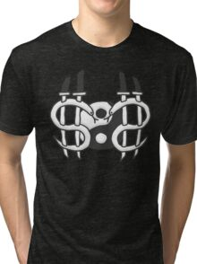 $O$ - dark version Tri-blend T-Shirt