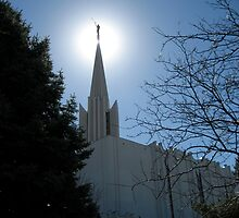 Glowing Moroni by jeffreynelsd