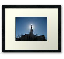 Bountiful Utah Temple Framed Print