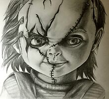 Hi, I'm Chucky! Wanna play? by Renata Ilciukaite