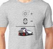 Forced Induction Equation 2 (Black) Unisex T-Shirt