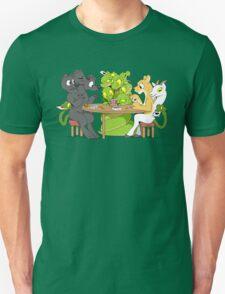 Cerberus Hydra and Chimera playing poker Unisex T-Shirt