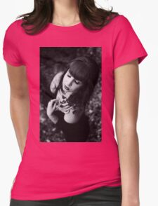 Nude Women Sexy - Sensual - Tattoo Womens Fitted T-Shirt
