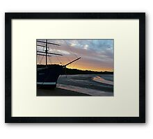 The ship that never was..........! Framed Print
