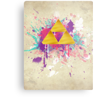 Triforce Splash Metal Print