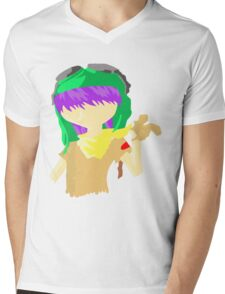 Desert Noodle Mens V-Neck T-Shirt