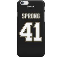 Pittsburgh Penguins Daniel Sprong Jersey Back Phone Case iPhone Case/Skin