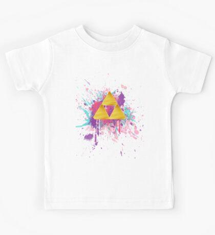 Triforce Splash Kids Tee