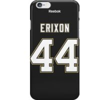 Pittsburgh Penguins Tim Erixon Jersey Back Phone Case iPhone Case/Skin