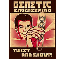 Genetics engineering. Photographic Print