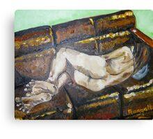 sleeping girl Canvas Print