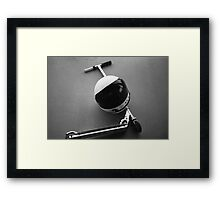 A Break for Jonny Quest Framed Print