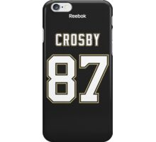 Pittsburgh Penguins Sidney Crosby Jersey Back Phone Case iPhone Case/Skin