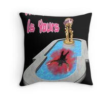 The World Is Yours!! Throw Pillow