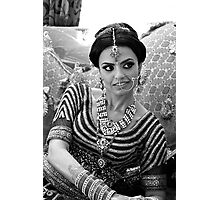 INDIAN BRIDE Photographic Print