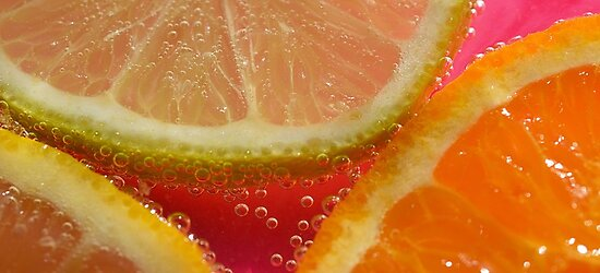 Orange, Lemon and Lime In Soda by julieapearce