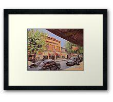 Jackson Street Framed Print