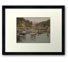 Winchester Bay Framed Print