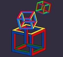 Neckin Necker Cubes Unisex T-Shirt