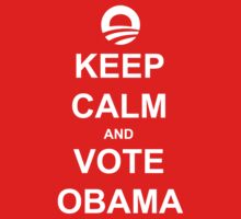 Keep Calm and Vote Obama 2012 Shirt by ObamaShirt