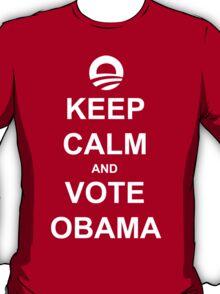 Keep Calm and Vote Obama 2012 Shirt T-Shirt