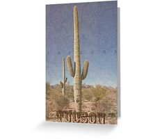 Tucson Postcard Greeting Card