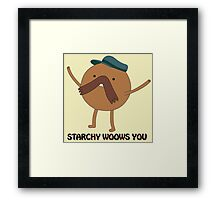 Adventure Time - Starchy 2 Framed Print