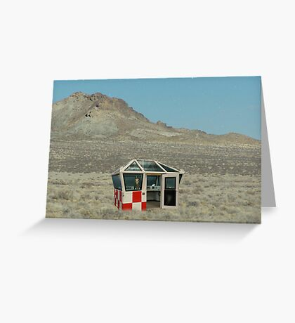 Landed Greeting Card