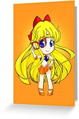 Sailor Venus  by Oshiokiyo