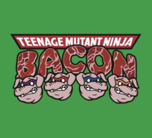 Teenage Mutant Ninja Bacon  by gorillamask