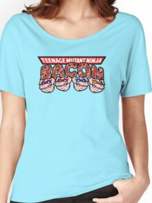 Teenage Mutant Ninja Bacon  Women's Relaxed Fit T-Shirt