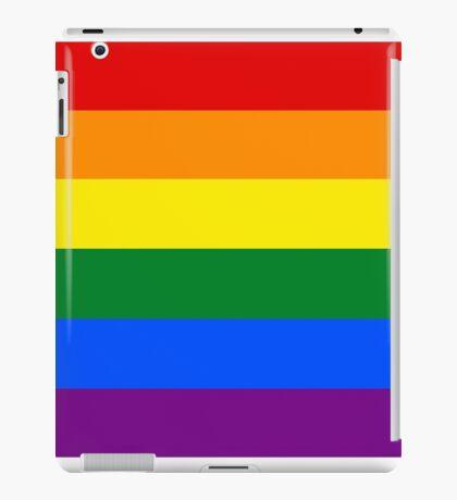 Rainbow flag Gay Homosexual Lesbian iPad Case/Skin