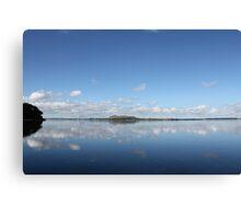 Reflection, Faulkner Bay, Auckland, New Zealand Canvas Print