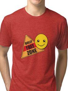 Back to School: Bully Free Zone Tri-blend T-Shirt