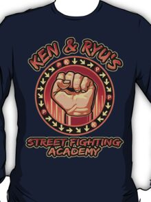 Ken and Ryu's Martial Arts Academy  T-Shirt